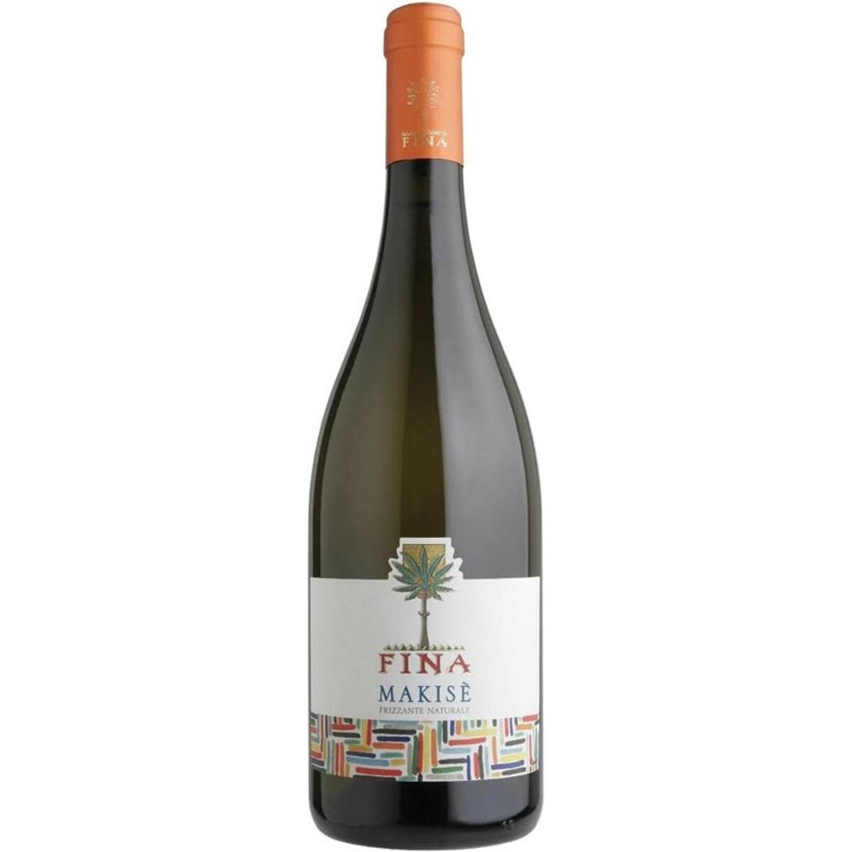 Вино Makise пенливо бяло Fina