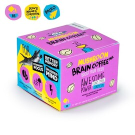 Инстантно кафе с гъби Mushroom Brain Coffee Mix 15бр