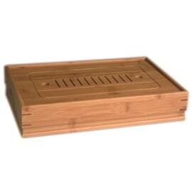 Бамбукова табла поставка за чай