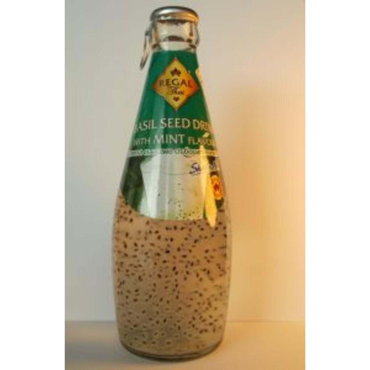Regal Thai напитка със семе от босилек и мента 290мл