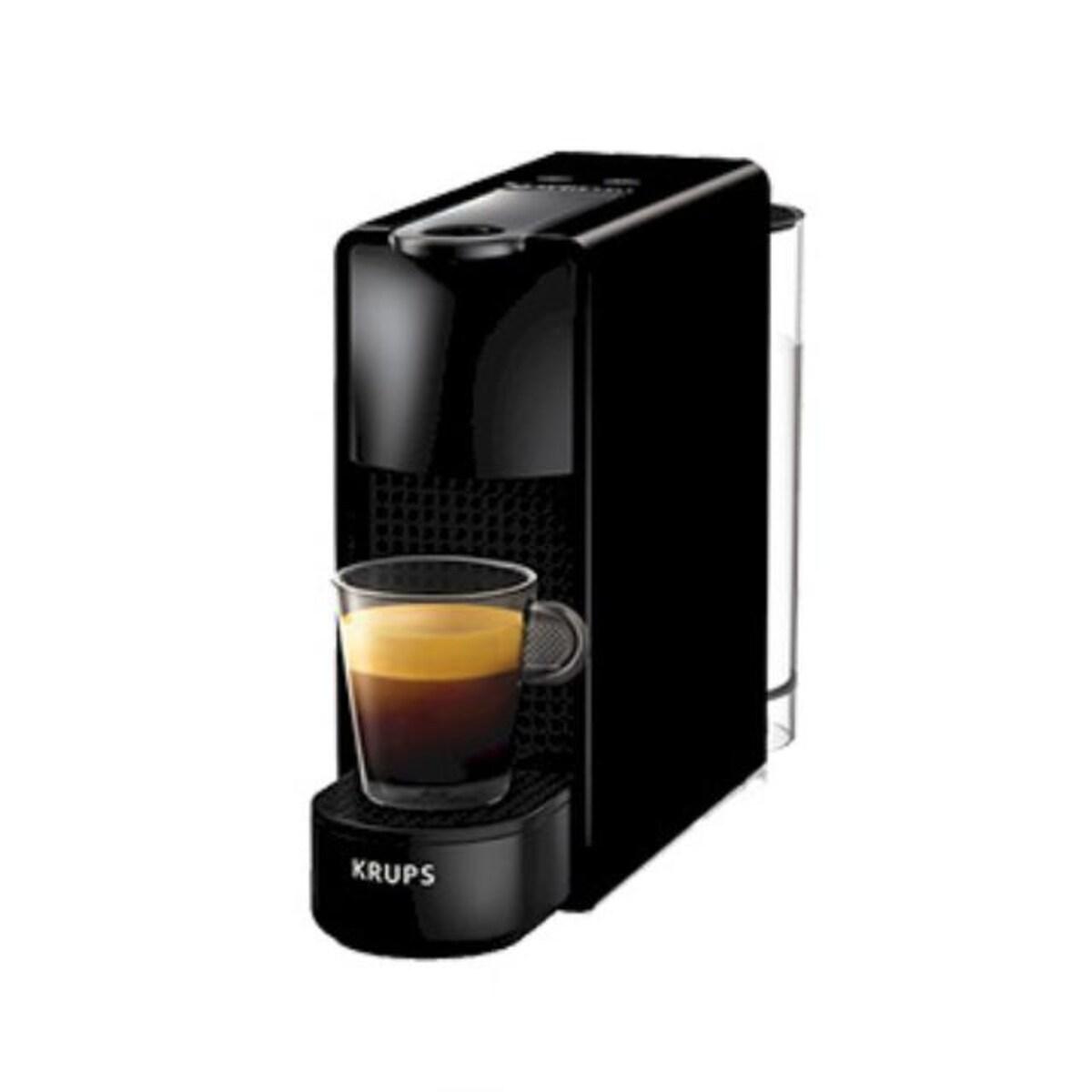 Nespresso кафемашина Essenza Mini черна+ 2 КУТИИ КАПСУЛИ CAFE ROYAL ПОДАРЪК