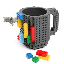 Чаша лего Build On Brick Mug
