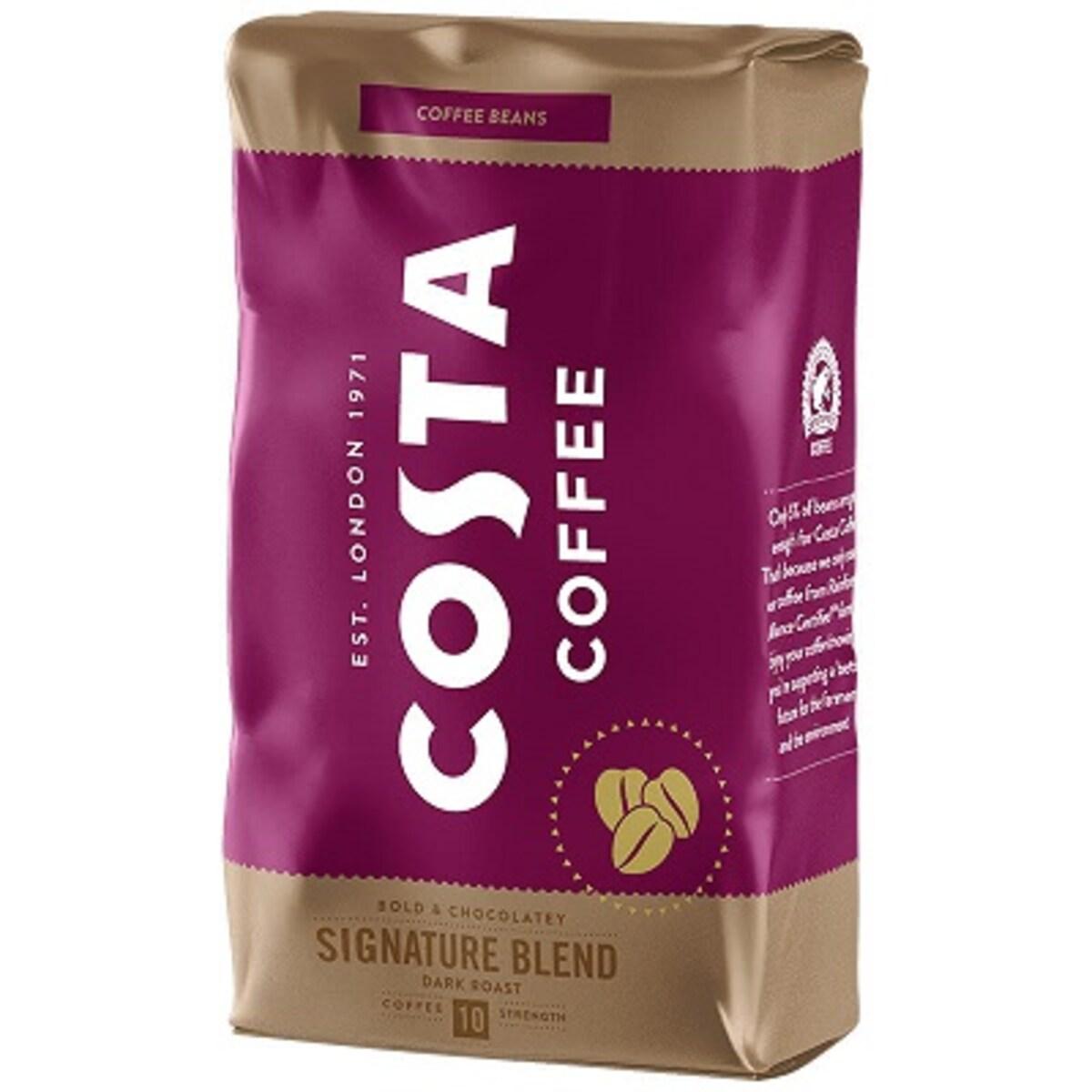 Costa Coffee Signature Dark Blend 1кг. кафе на зърна