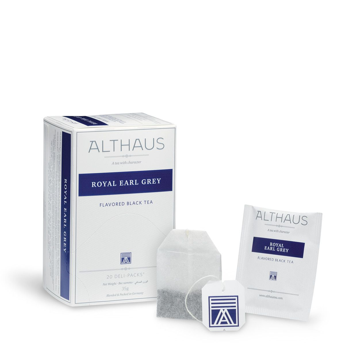 Althaus черен чай Royal Earl Grey