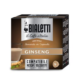 Bialetti Ginseng капсули за Dolce Gusto кафемашина 16 капсули