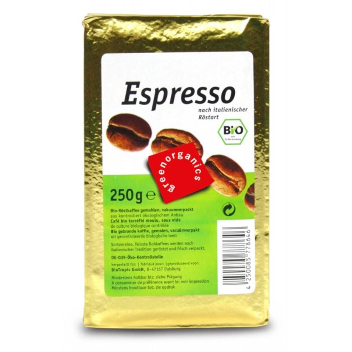 Био кафе еспресо мляно Green, 250гр