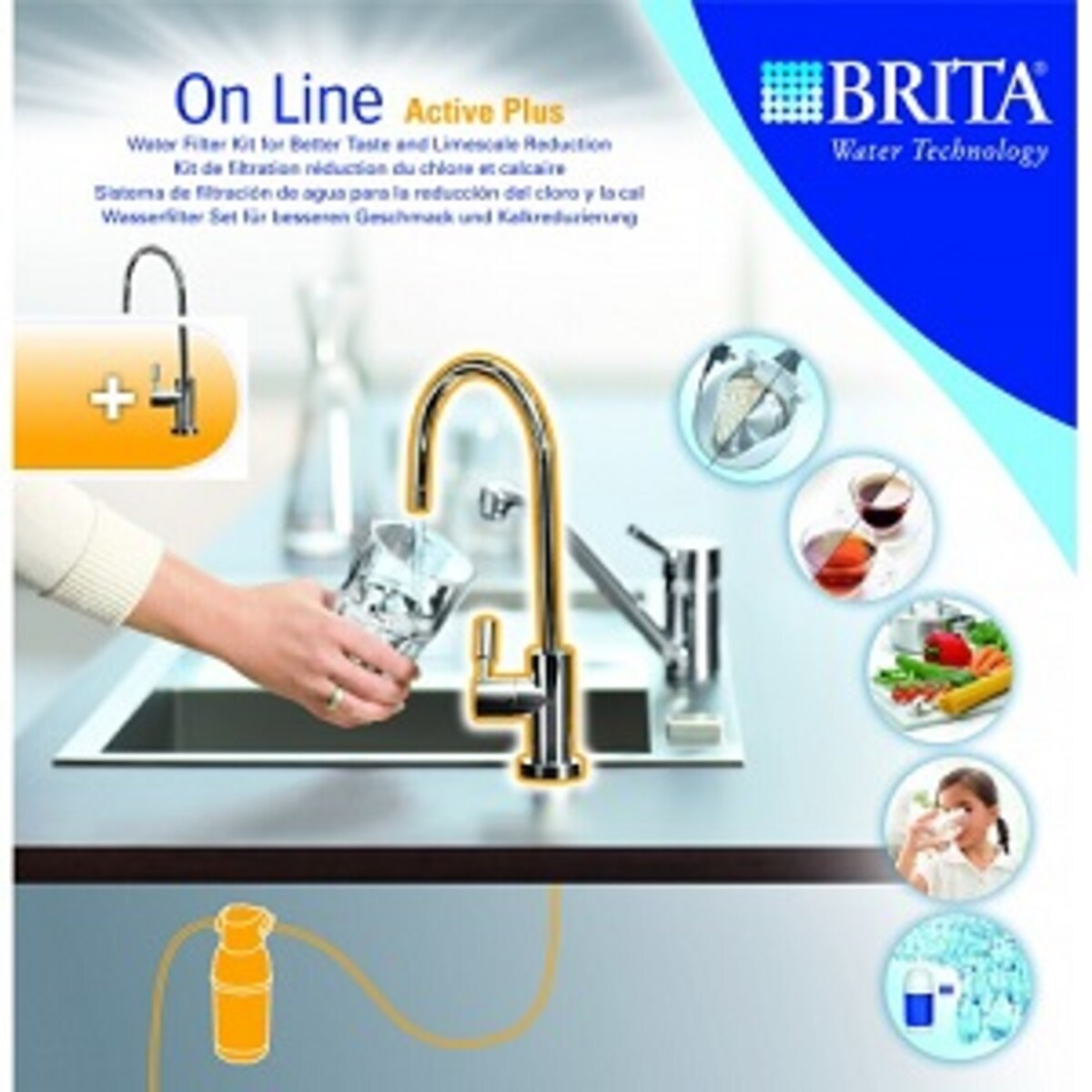 On Line Active Plus филтърна система Brita