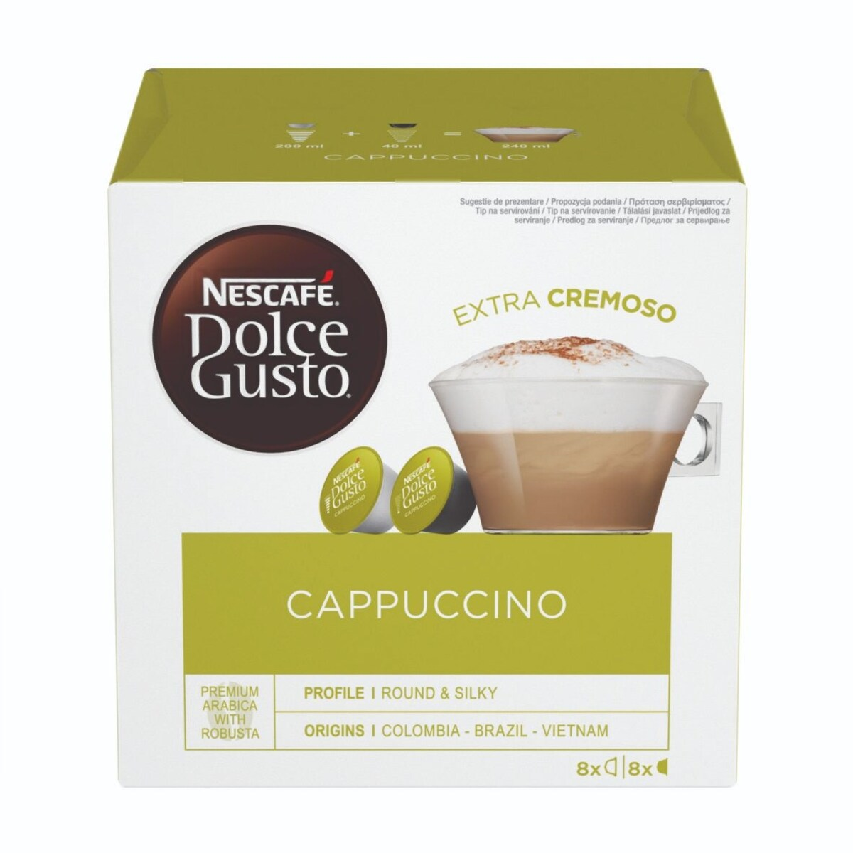 Nescafe Dolce Gusto Cappuccino капсули