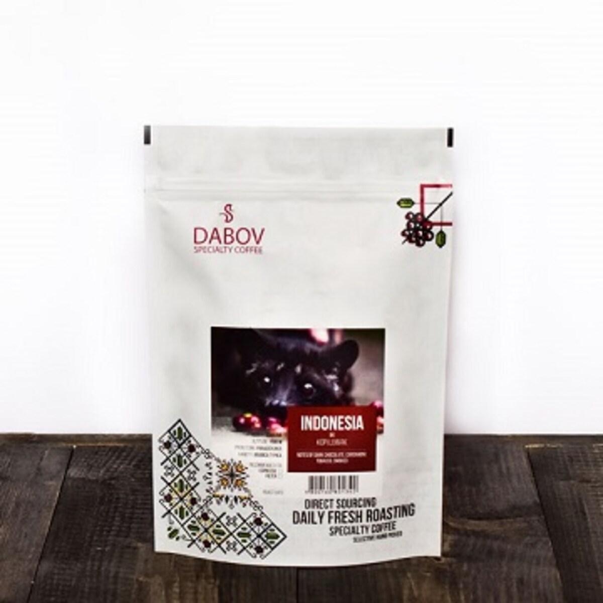 DABOV Specialty Coffee - Копи лувак 200.8 гр