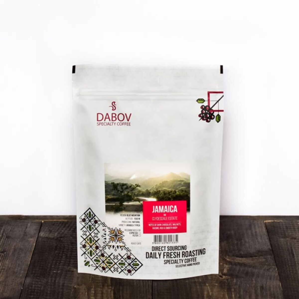 DABOV Specialty Coffee - Ямайка Блу Маунтин 40гр