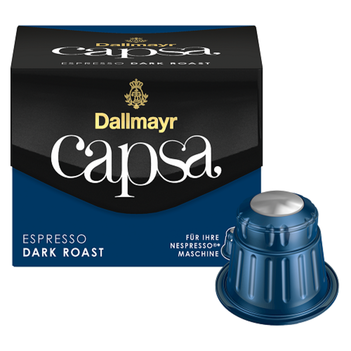 Dallmayr Espresso Dark Roast - Nespresso съвместими капсули