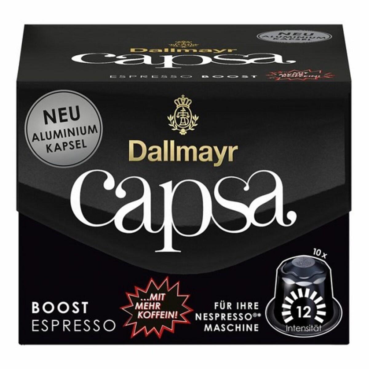 Dallmayr capsa Espresso Boost  Nespresso съвместими капсули