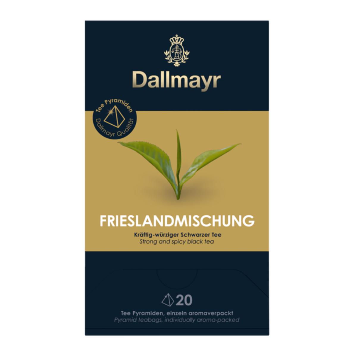 Dallmayr Black Tea East Frisian Blend черен чай 20 сашета
