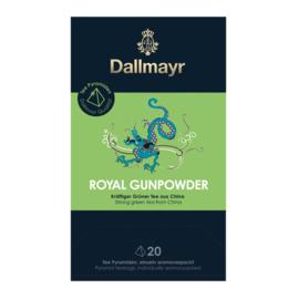 Dallmayr Green Tea China Gunpowder зелен чай 20 сашета