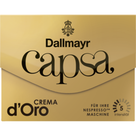 Dallmayr capsa Crema d´Oro Nespresso съвместими капсули