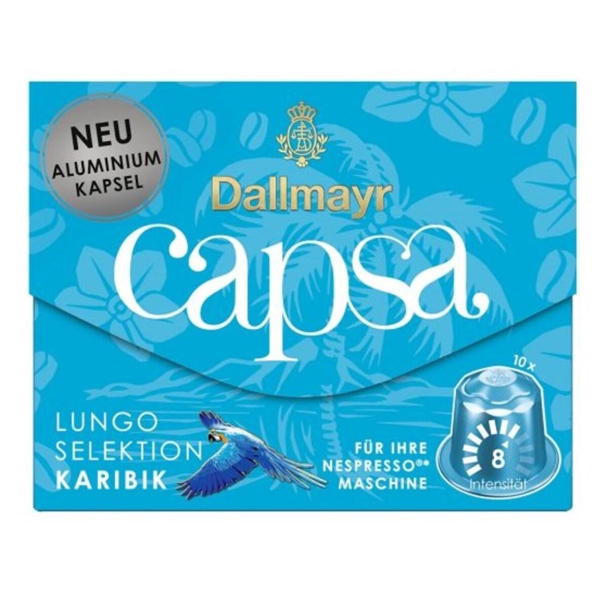 Dallmayr capsa Lungo Selection Karibik  Nespresso съвместими капсули