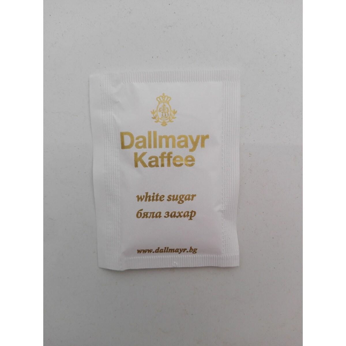 Dallmayr бяла захар в пакетче 4гр, 1000бр