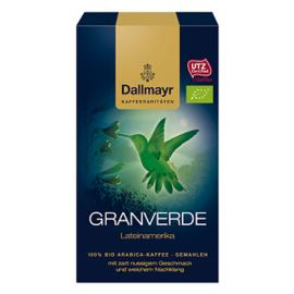 Dallmayr Granverde Bio 250 гр мляно кафе
