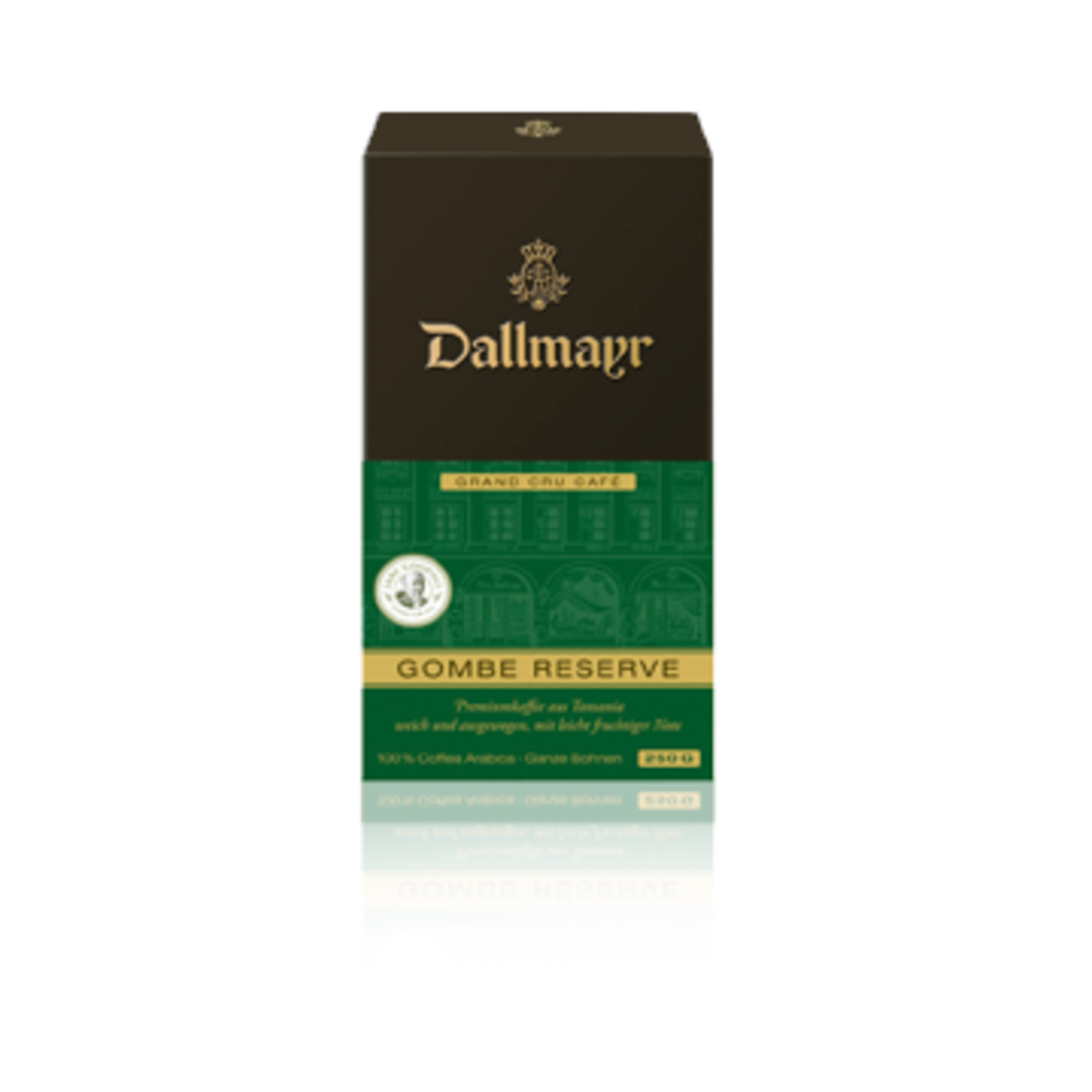 Dallmayr Grand Cru Gombe Reserve кафе на зърна 250гр