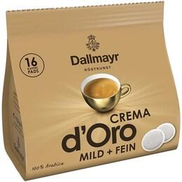 Dallmayr Crema D'oro с мек аромат, 16 пада за Сенсео кафе машина