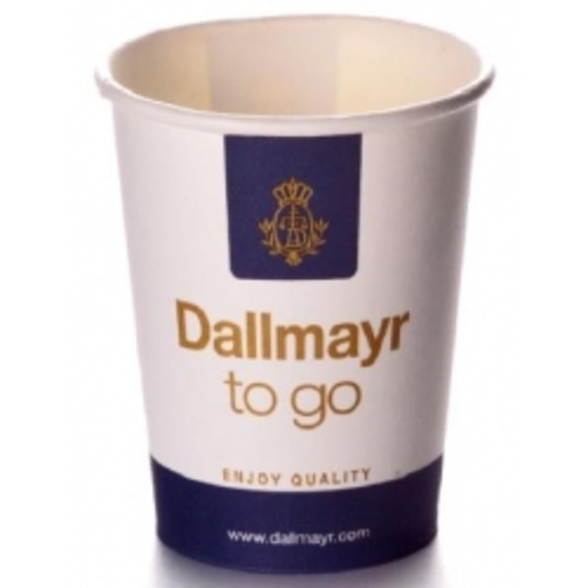 Dallmayr картонени чаши 250 мл, 50 бр. в стек