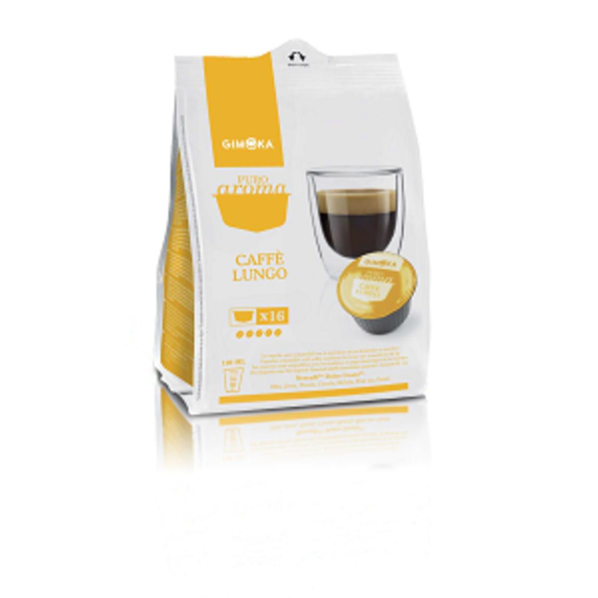 Капсули Gimoka Cafe Lungo - Dolce Gusto съвместими капсули