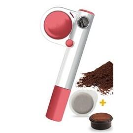 Handpresso Wild Hybrid Pump розова преносима машинка за кафе