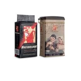 Hausbrandt Anniversario кутия + 250гр мляно кафе