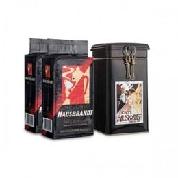 Hausbrandt Liberty 2x250гр мляно кафе + метална кутия