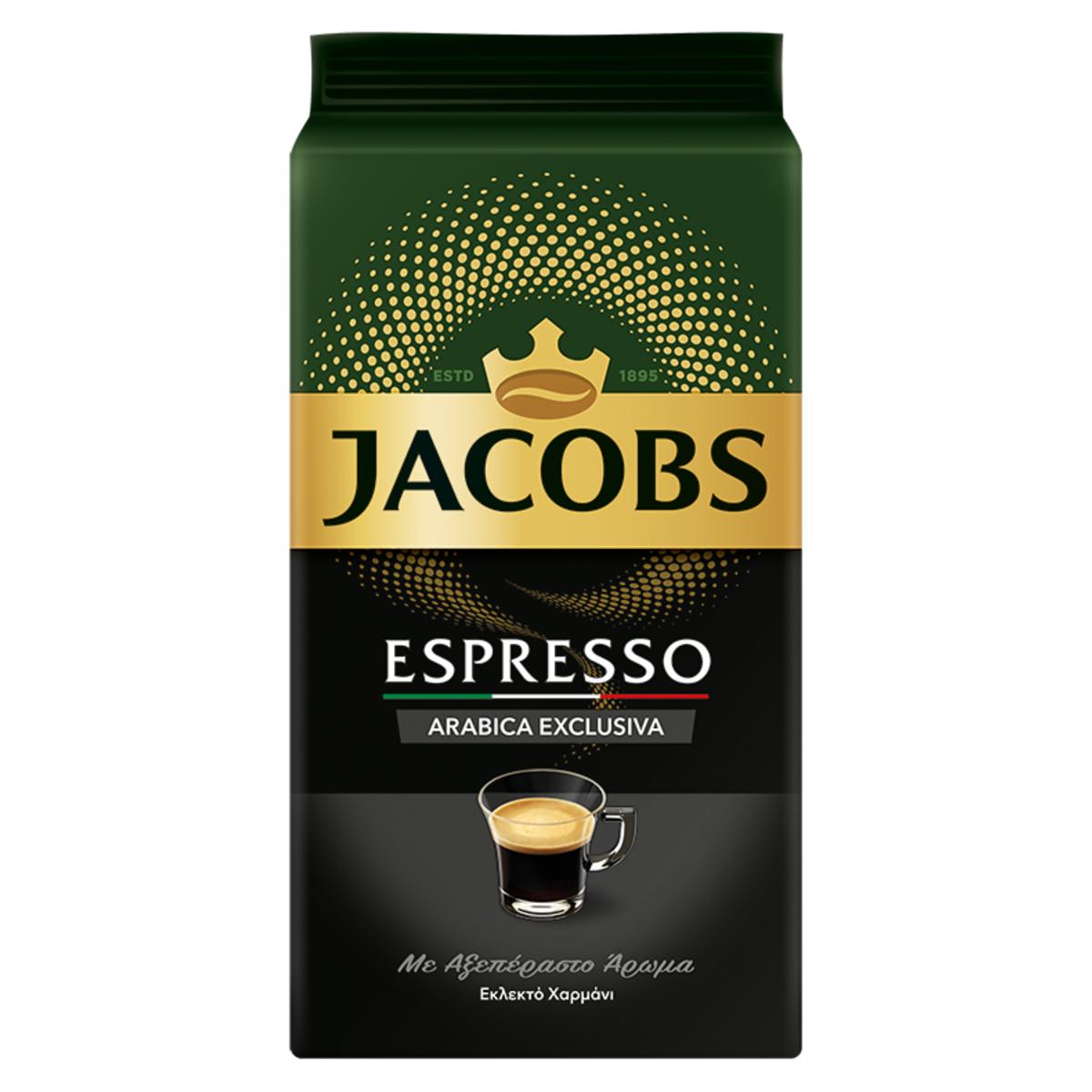 Jacobs Espresso Arabica мляно кафе 250гр.