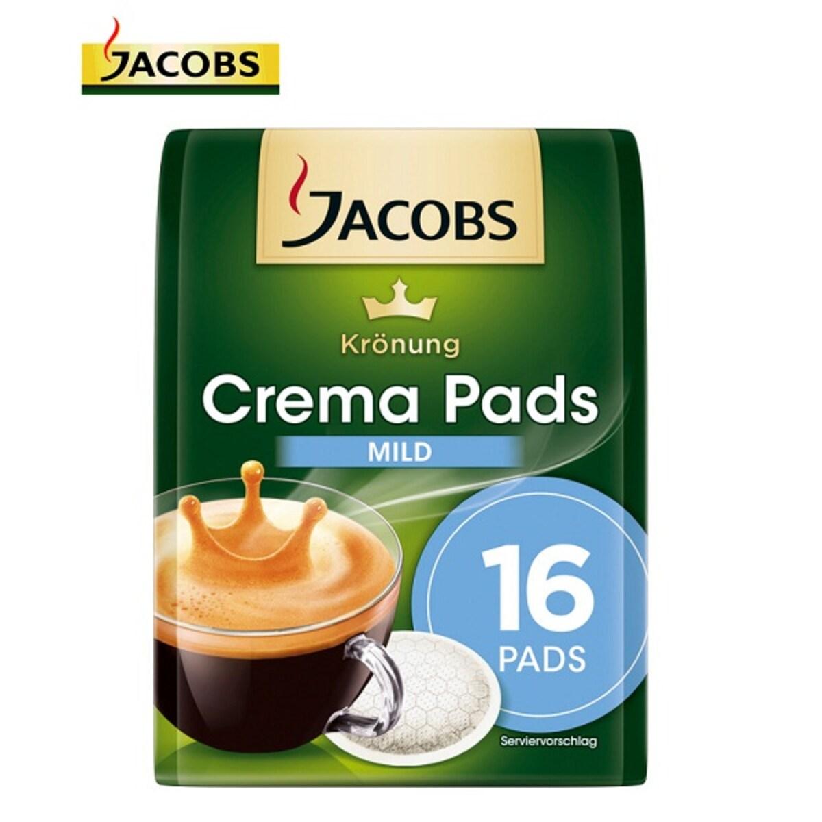 Jacobs Krönung Crema Mild - дози