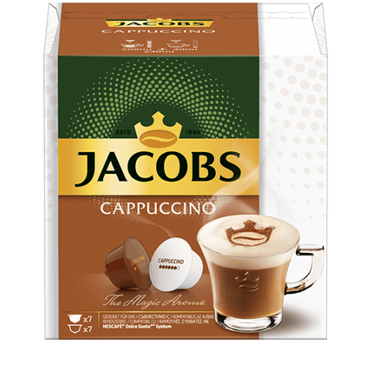 Jacobs Cappuccino капсули за Dolce Gusto кафемашина