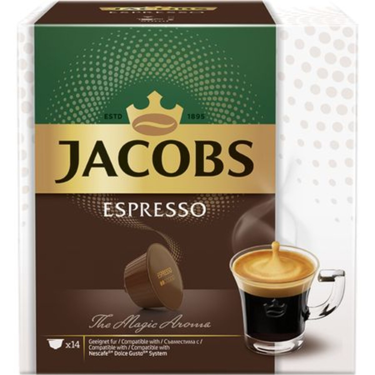 Jacobs Espresso капсули за Dolce Gusto кафемашина