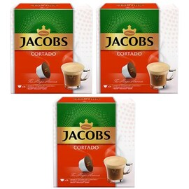 Jacobs Cortado капсули за Dolce Gusto кафемашина 3бр кутии