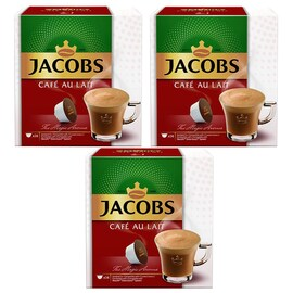 Jacobs Cafe Au Lait капсули за Dolce Gusto кафемашини 3бр кутии