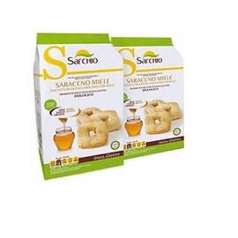 Био безглутенови бисквити от елда с мед Sarchio, 200гр
