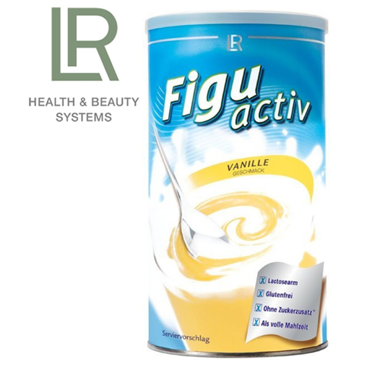 LR Figuactiv шейк с вкус на ванилия 450 гр