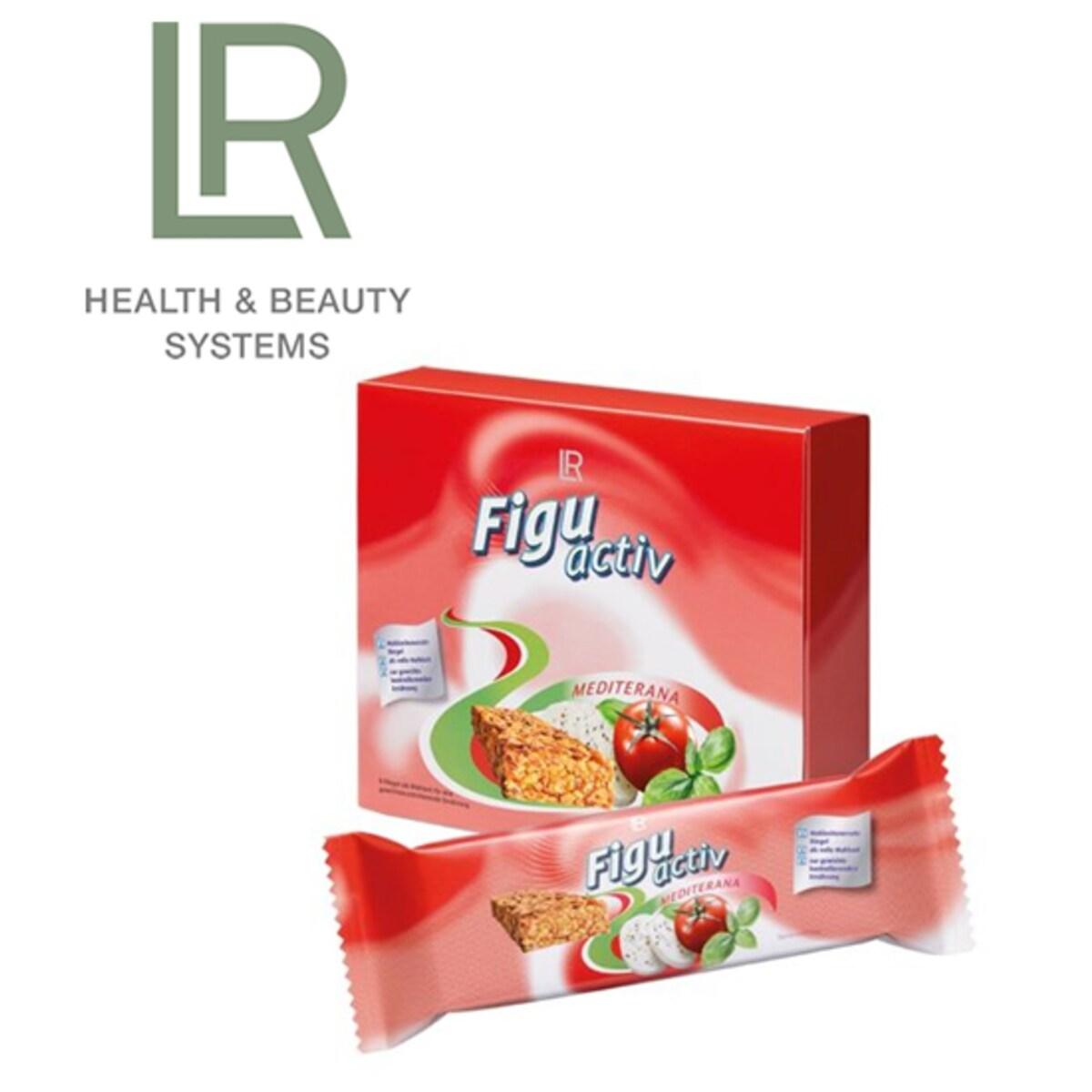 LR Figuactiv Mediterana блокчета с вкус на домат, моцарела и босилек 6 броя по 60 гр