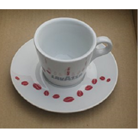 Lavazza Caffe Crema чаша за кафе с чинийка