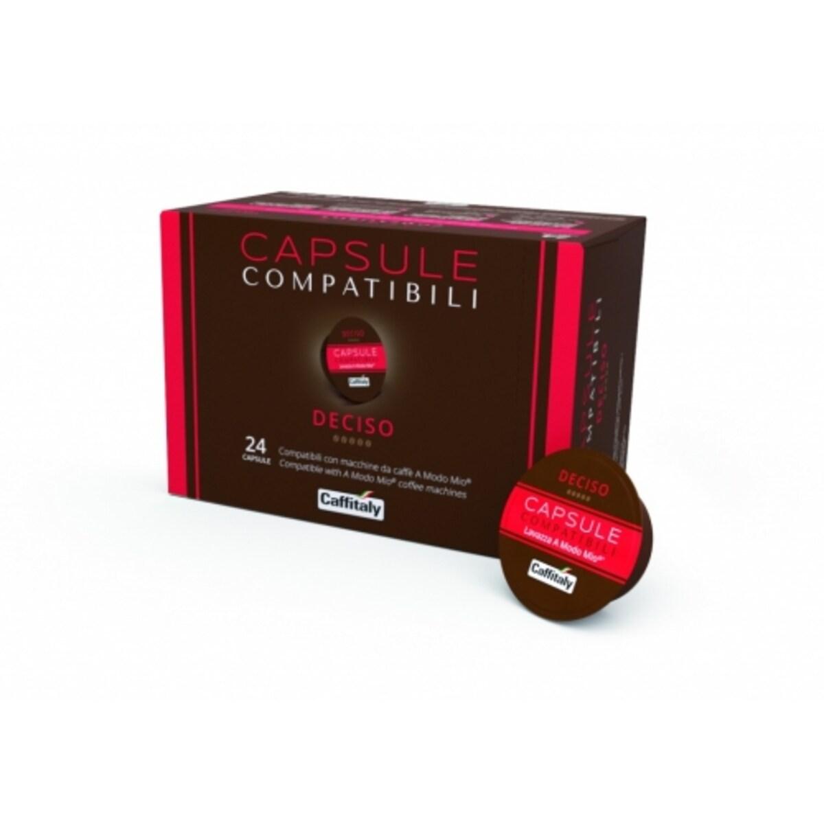 Caffitaly La Capsule Deciso 24 Lavazza A Modo Mio съвместими