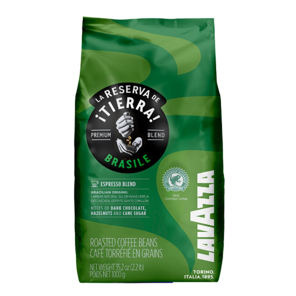 Lavazza Tierra Brasile Espresso Intense кафе на зърна 1кг