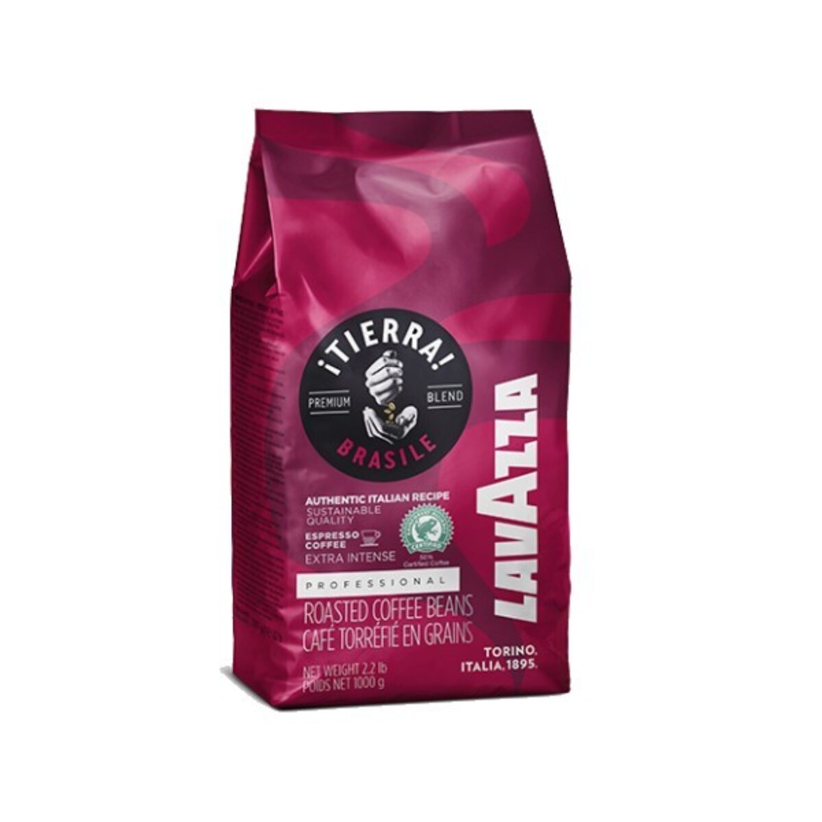 Lavazza Tierra Brasile Extra Intense кафе на зърна 1кг