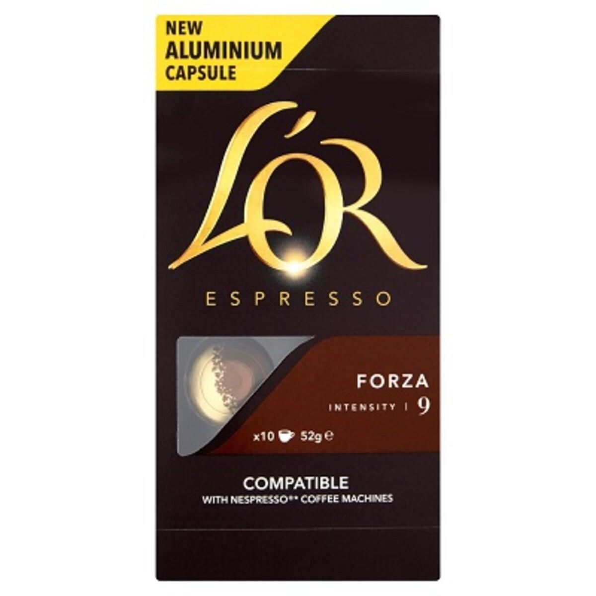 L'Or Forza Nespresso съвместими капсули
