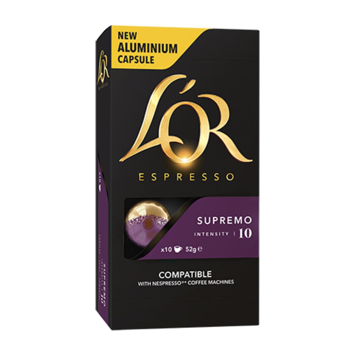 L'Or Supremo Nespresso съвместими капсули