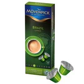 Mövenpick Brazil Lungo Nespresso съвместими капсули 10бр