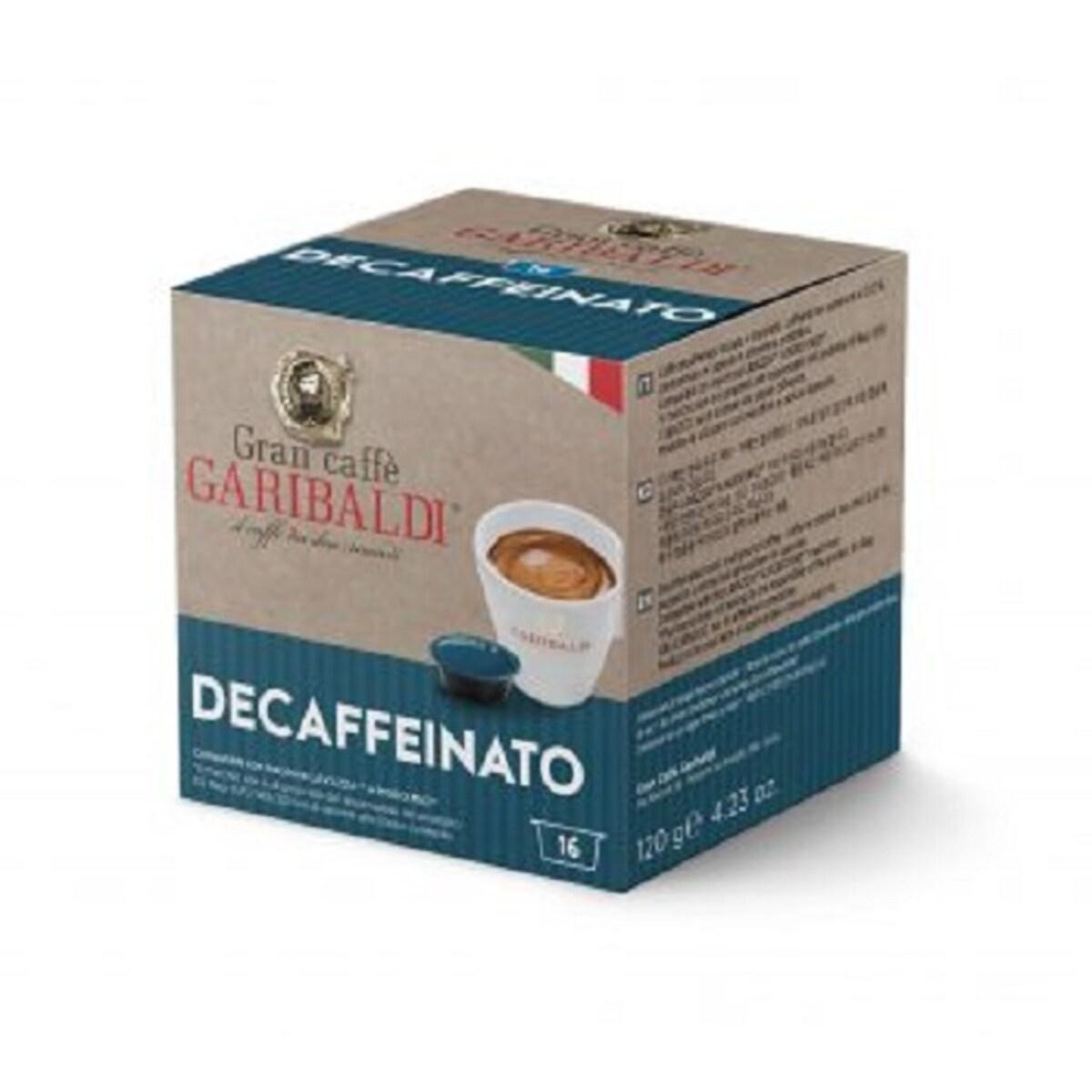 Garibaldi Decaffeinato, Lavazza A Modo Mio съвместими капсули
