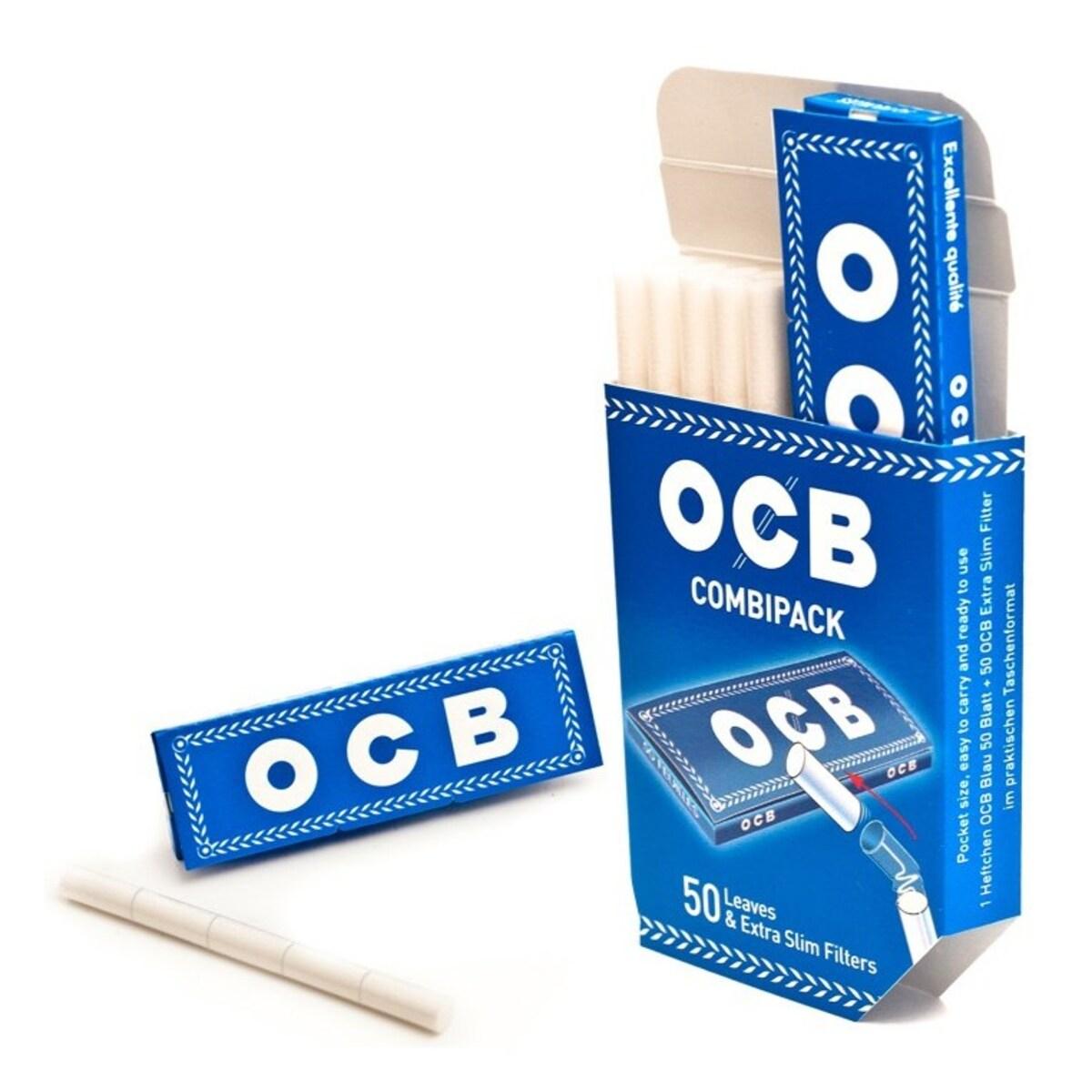 OCB Blue Combipack Хартийки и филтри за цигари