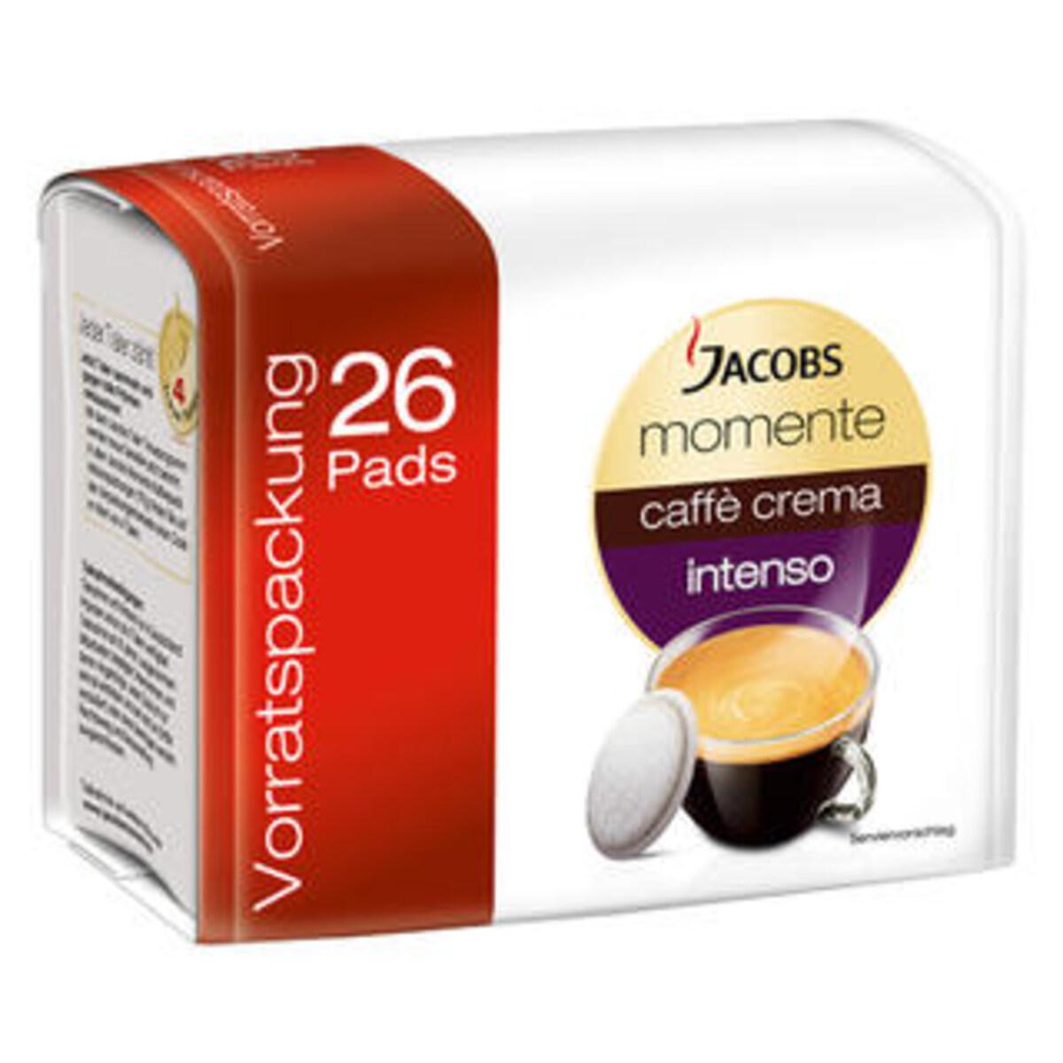 Jacobs Momente Caffе Crema Intenso - 26 дози