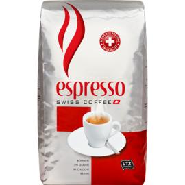 Swiss coffeе espresso 1кг швейцарско кафе на зърна