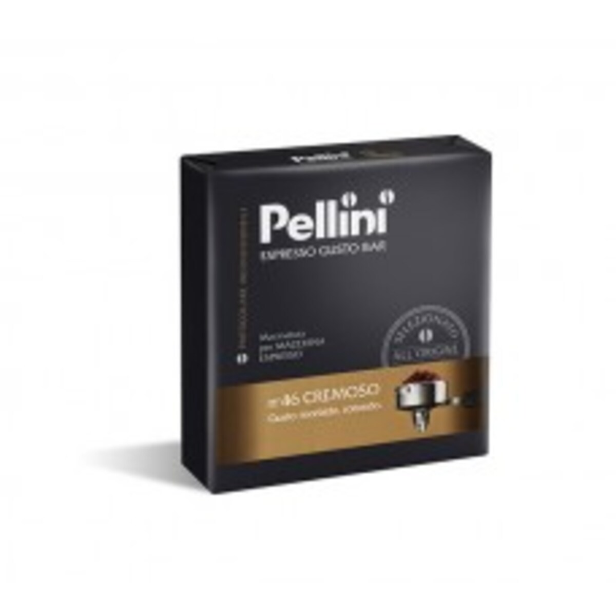 Pellini Gusto bar N46 Cremoso мляно кафе 2X250 г